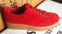 Женские кроссовки №2016 (красные)