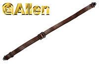 Погонный ремень для переноски оружия Allen Slide & Lock Leather Sling (с антабками)