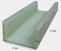 Стеклопластиковый швеллер , фото 1