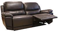 """Стильный кожаный диван с реклайнером """"MONTANA"""""""