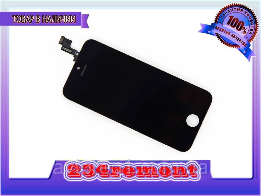 Тачскрин + дисплей на Iphone 5s, черный,белый ориг