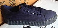 Женские кроссовки №016 (синие)