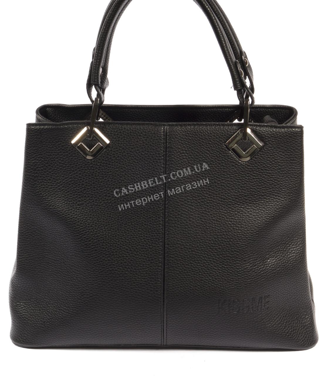 Элегантная женская сумка черного цвета art.Х-140