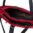 Яркая женская сумка из натуральной кожи DESISAN (ДЕСИСАН) SHI1521-172-1FL красный, фото 5