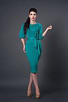 Платье мод №256-1, размеры 40 бирюза
