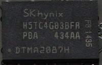 Микросхема Hynix H5TC4G83BFR для ноутбука