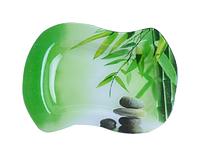 Тарелка прямоуг. 23 *17,5см (Зеленый бамбук) ST 3814