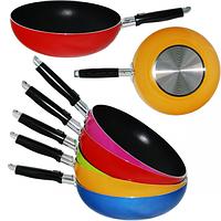 Сковородка WOK с антипригарным покрытием 26 см Toscana 80218