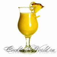 Рецепт тропического коктейля