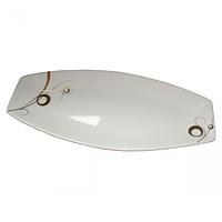 Тарелка для рыбы 16 Золотой завиток ST 30827-G11