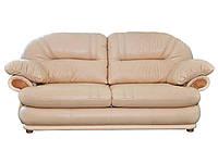 Кожаный диван Orlando, не раскладной диван, мягкий диван, мебель из кожи, диван