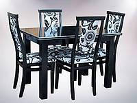 Комплект стол и стулья Барри