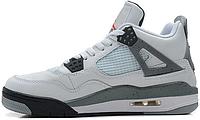 Баскетбольные кроссовки Nike Air Jordan 4 Retro, Найк Аир Джордан ретро белые