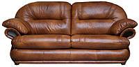 Новый уютный диван с реклайнером - Орландо, коричневый