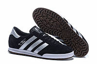 Мужские кроссовки Адидас Beckenbauer Black Реплика, фото 1