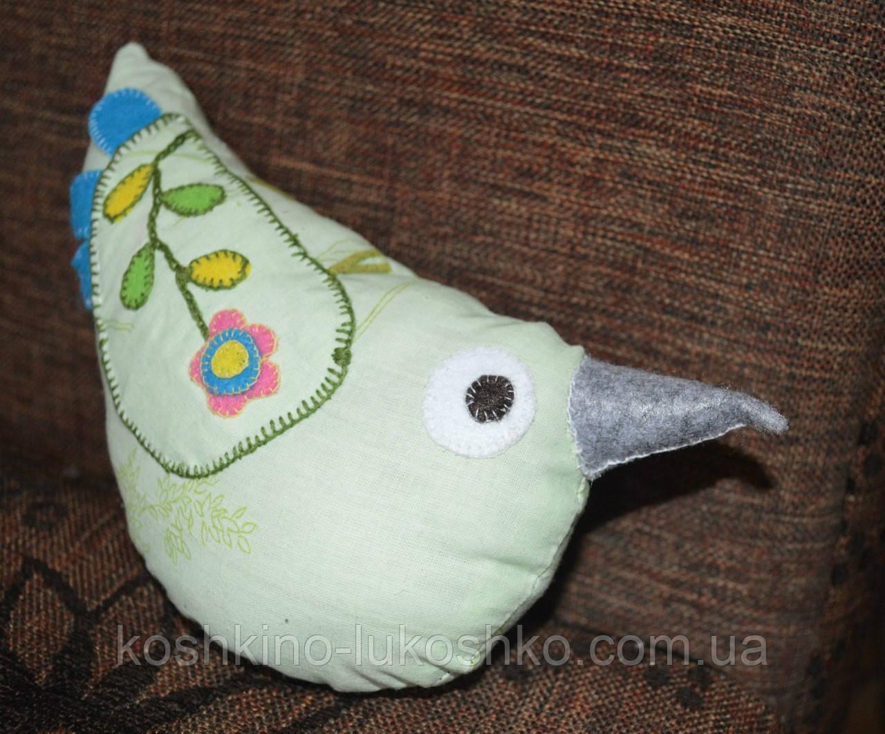 Птичка декоративная