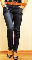 Женские классические джинсы полубатал