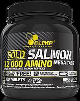 Olimp Gold Salmon 12000 Amino Mega Tabs 300 tabs , фото 1