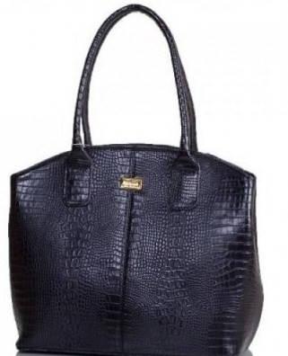 Строгая женская сумка из искусственной кожи ETERNO (ЭТЕРНО) ETMS35313-2 черный