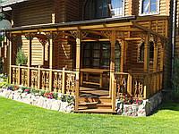 Тераса деревянная