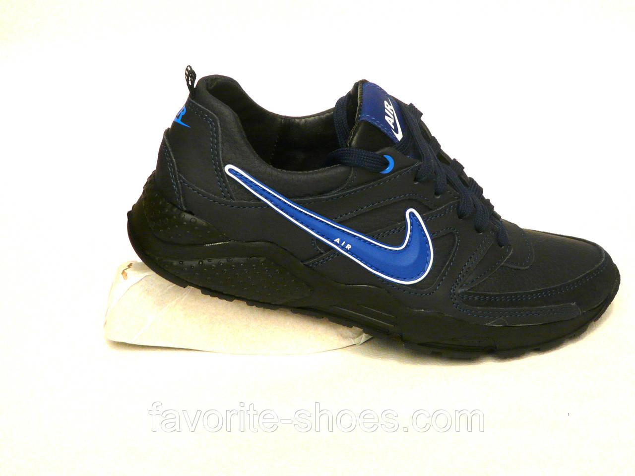 Кожаные мужские кроссовки NIKE G 40, 42р.
