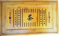 Чабань из бамбука 500х300х50