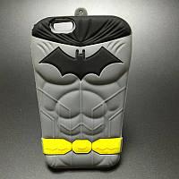 Мягкий силиконовый чехол Бэтмен для Iphone 5\5s, фото 1