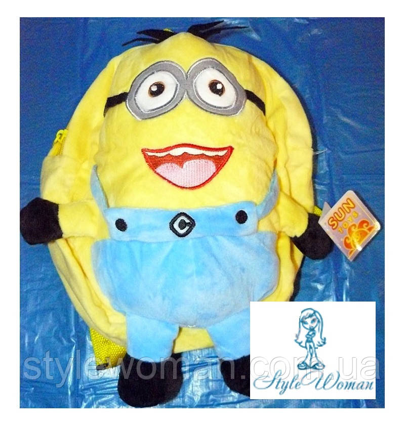 Рюкзак-игрушка Миньйон 45см