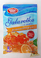 Galaretka Желе со вкусом апельсина 70 гр Kraw Pak Польша