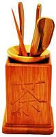Приборы для чайной церемонии из бамбука