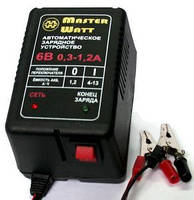 Автоматическое зарядное устройство Master Watt 0,3-1,2А 6В для мото аккумуляторов