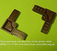 Уголок 11*30 коричневый