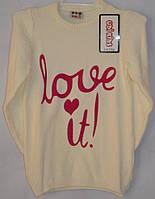 Нарядный свитер для девочки от 5 до 11 лет Udi kids