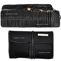 Набор из 35 кистей для макияжа Beauties Factory Makeup Brushes (All-Time Artist Pure Black), фото 1