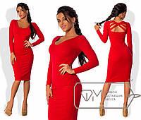 Элегантное платье до колен Нина, фото 1