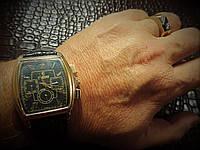 """Часы механические мужские """"Рекорд"""" Россия, Москва. Автоподзавод, влагонепроницаемые, противоударные."""