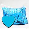 Конфетти Сердечка Синие