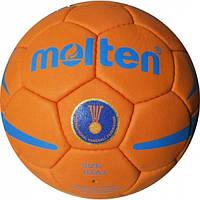 Мяч гандбольный MOLTEN  (PU, р-р 3, 5 слоев, сшит вручную)