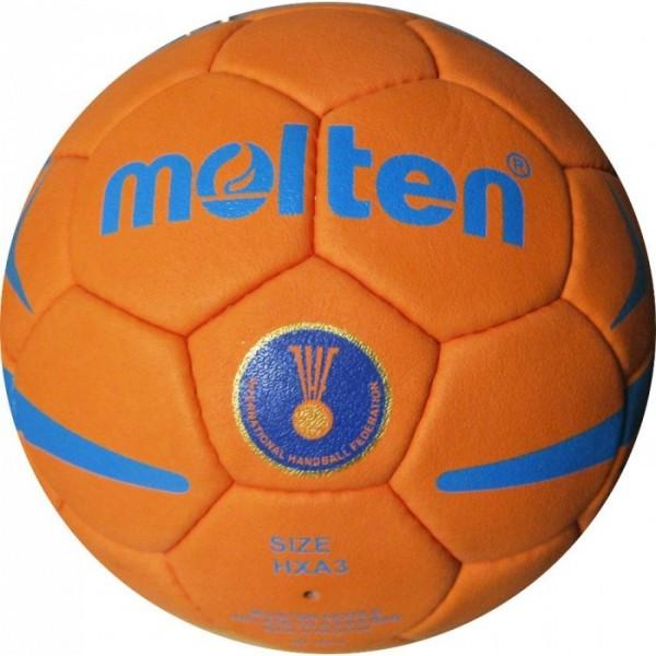 Мяч гандбольный MOLTEN  (PU, р-р 3, 5 слоев, сшит вручную) - KIMBO в Харькове