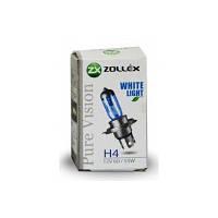 Лампа галогенная Zollex H4 12V 60/55W Pure vision