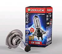 Лампа галогенная Zollex H7 12V 55W
