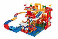 Детский гараж 3 уровня с дорогой 3 м Wader