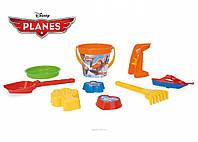 Набор для песка Самолетики Disney 9 элементов IML Wader