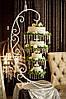 Подвесной перевернутый свадебный торт Киев