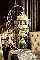 Подвесной перевернутый свадебный торт Киев, фото 1