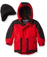 Куртка красная Rothschild (США) с шапкой для мальчика 2-4 года