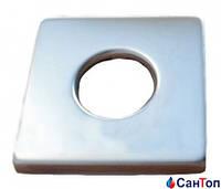 Розетка SCHLOSSER для сантехнической арматуры Square, цвет хром