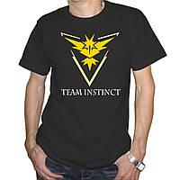"Мужская футболка ""Pokemon Go team instinct"""