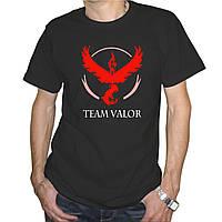 "Мужская футболка ""Pokemon Go team valor"""
