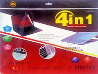 """Защитная пленка для ноутбука 4 в 1 15,6"""", антибликовая пленка для монитора, защитная пленка 15.6"""